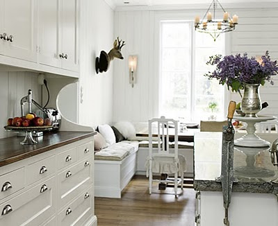 Otherwise Occupied: Built-In Kitchen Seating