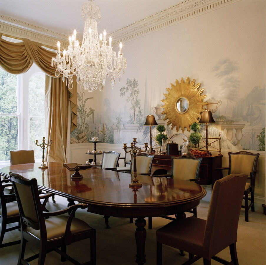 Otherwise Occupied: Dining Room Murals