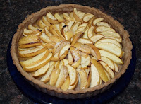 Apple Tart with Orange Zest & Cinnamon