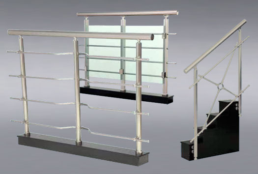 Barandillas de aluminio baratas materiales de - Escaleras de aluminio baratas ...