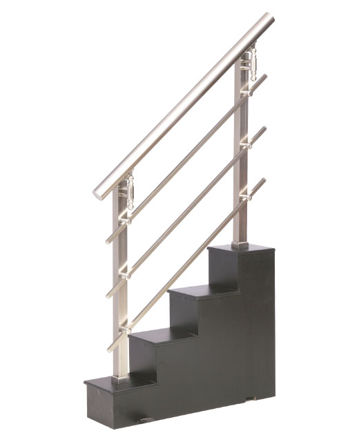 Forja art stica en aluminio barandillas de escalera de - Escaleras de forja interiores ...