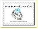 """Selo """"este blog é uma jóia"""""""