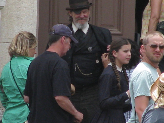 Set Pics from True Grit