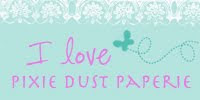A fan of Pixie Dust Paperie