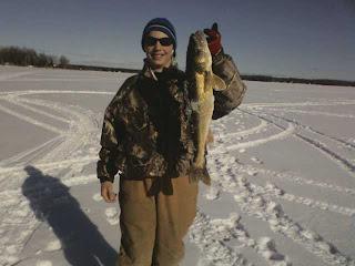 Houghton lake walleye report big manistique lake for Enid lake fishing report
