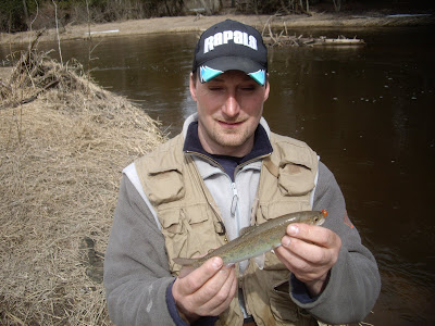 Houghton lake walleye report bear creek 3 28 09 for Enid lake fishing report