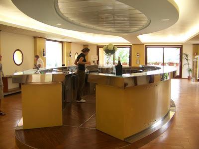 Caprai tasting room