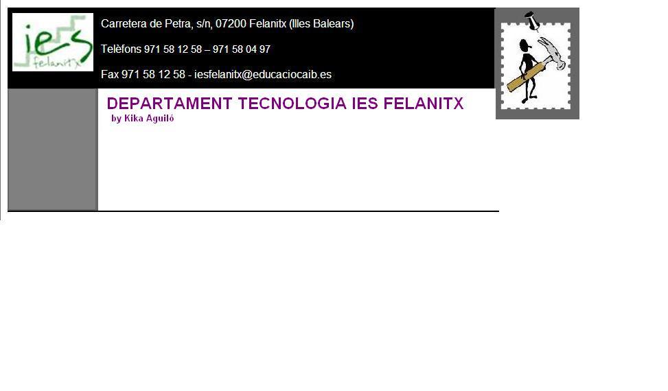 Departament Tecnologia de l'IES Felanitx