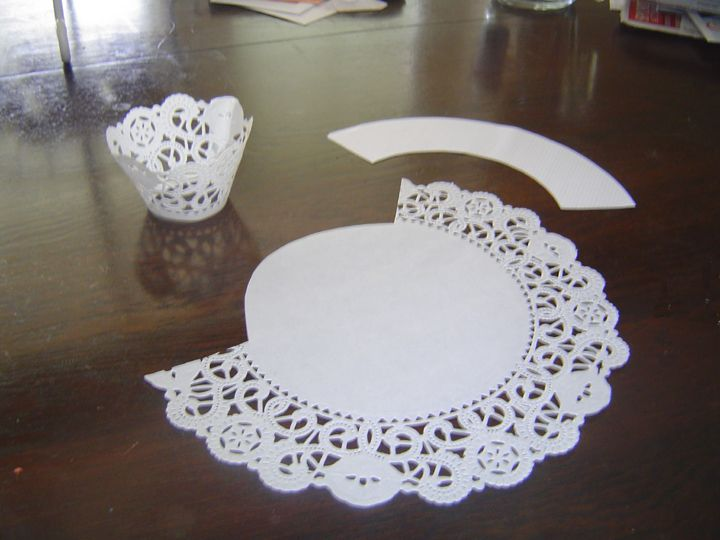 Cupcake Lace Wrappers