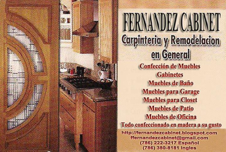FERNANDEZ CABINET