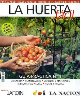 Revista: Jardin - La Huerta Facil No. 01 [8.74 MB | PDF | Español]