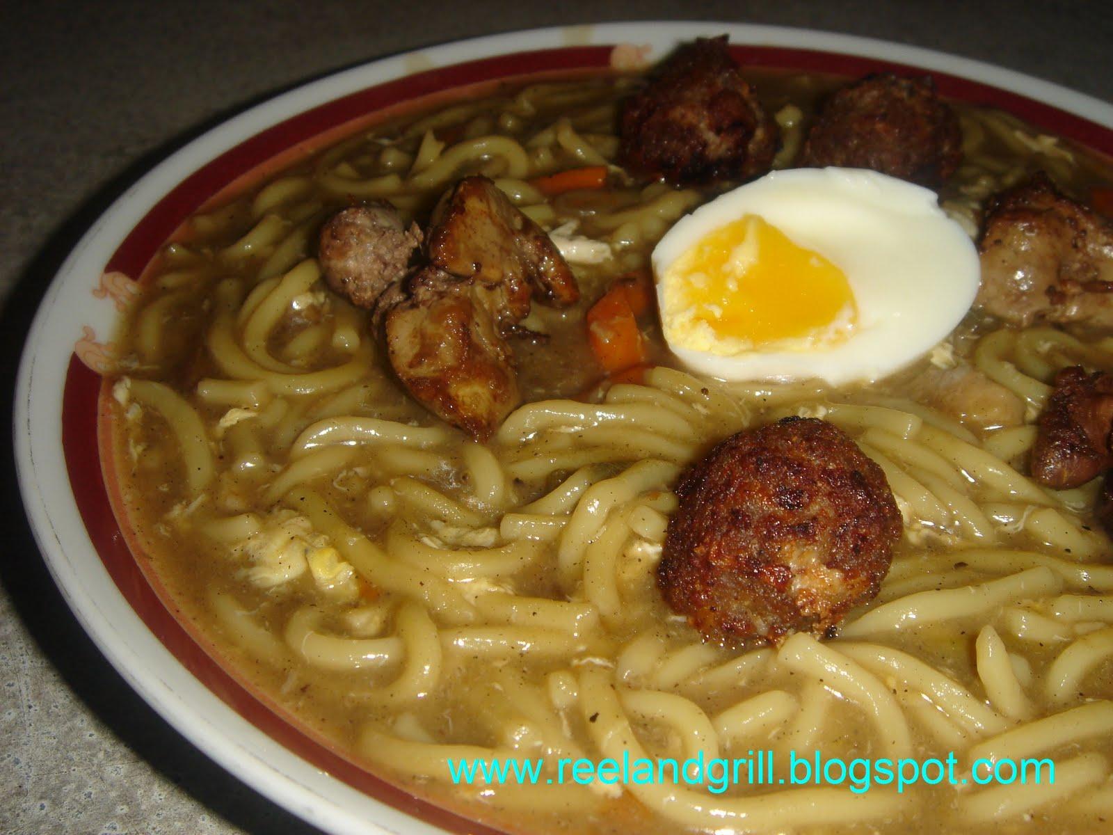 Reel And Grill Loming Lipa Pancit Lomi Fresh Egg