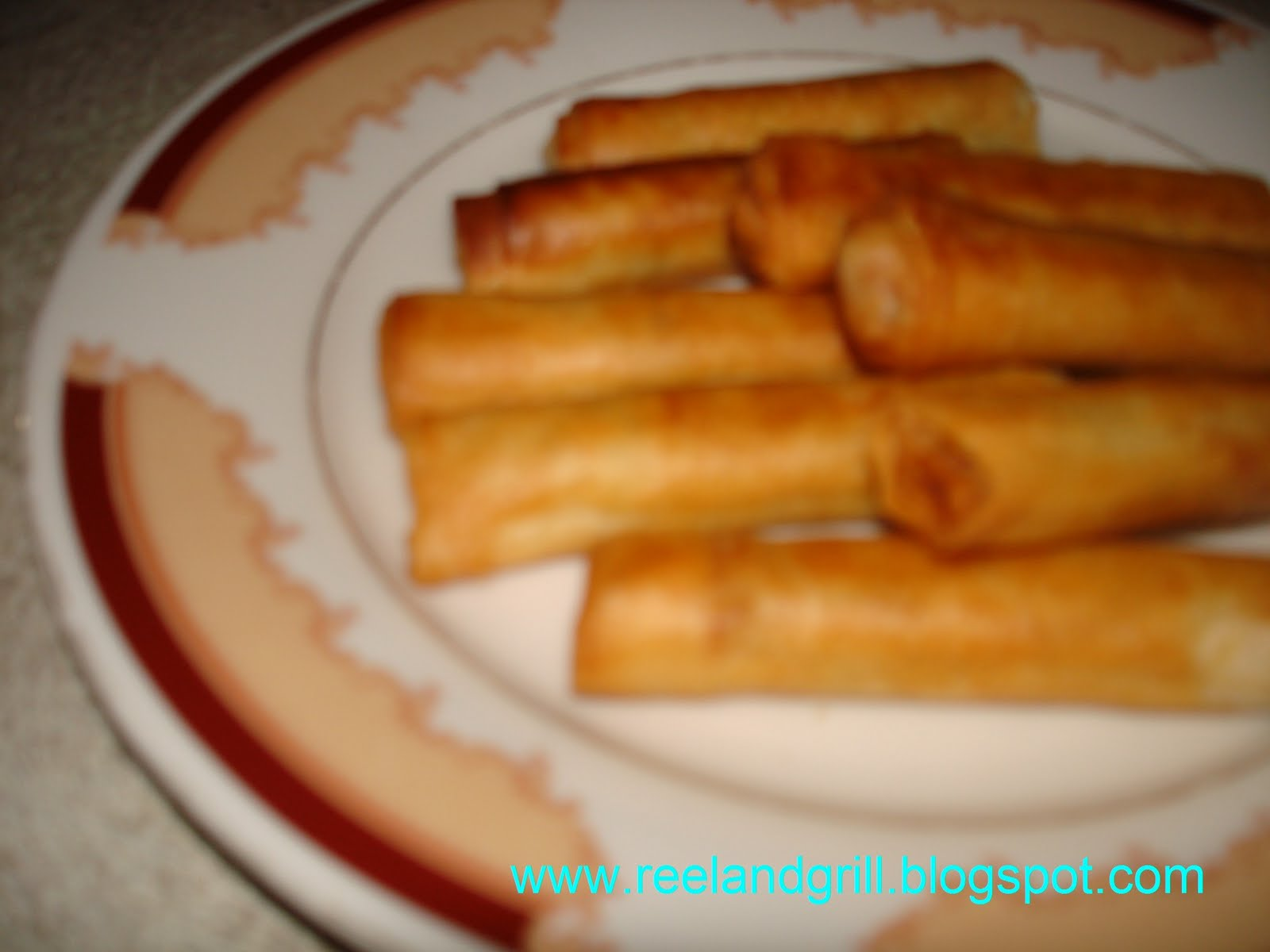 Reel and Grill: Fish Shanghai (Fish Spring Roll)