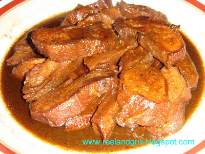 Asadong Dila or Lengua (Pork or Ox Tongue Asado Version 2)