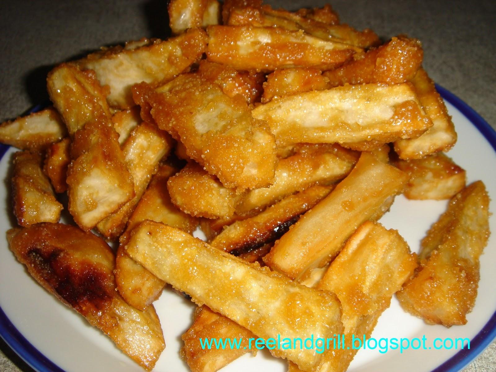 ... fried sweet potatoes deep fried sweet potato and sweet potato banana