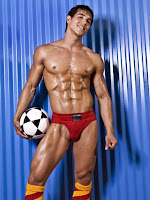 Fitness Model Alan Valdez underwear hunk