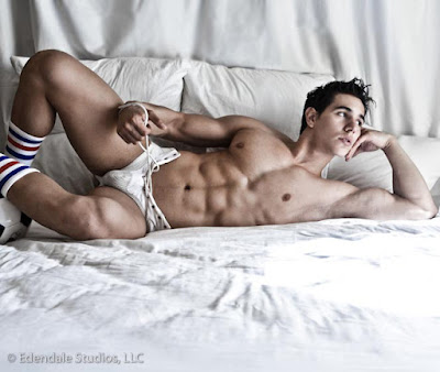 Fitness Model Alan Valdez muscle builder