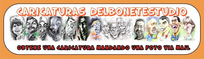CARICATURAS DelbonetestudiO
