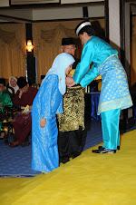 Istiadat Pengurniaan Pingat N.Pahang pada 27.2.2010