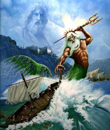 Poseidón   MITOLOGIA GRIEGA - Dioses - 88.2KB