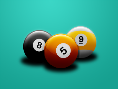 Billiard Balls in Photoshop