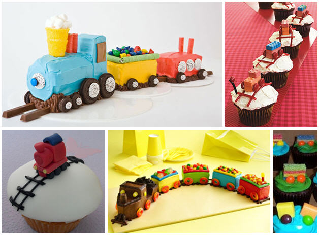 Train Birthday Cake Ideas for Boys