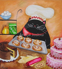 Black cat pastry chef
