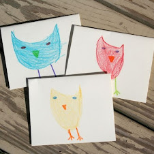 KID ART note cards!!