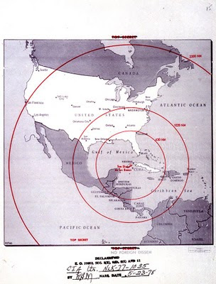 cuban missile crisis briefing map