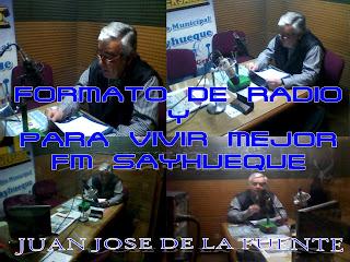 FORMATO DE RADIO (FM SAYHUEQUE)