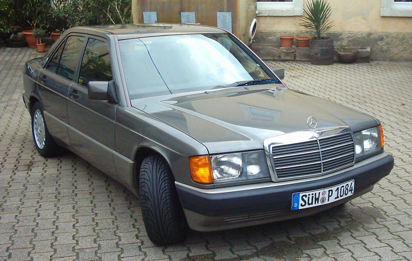mercedes benz me mercedes benz 190e w201 1982 to 1993