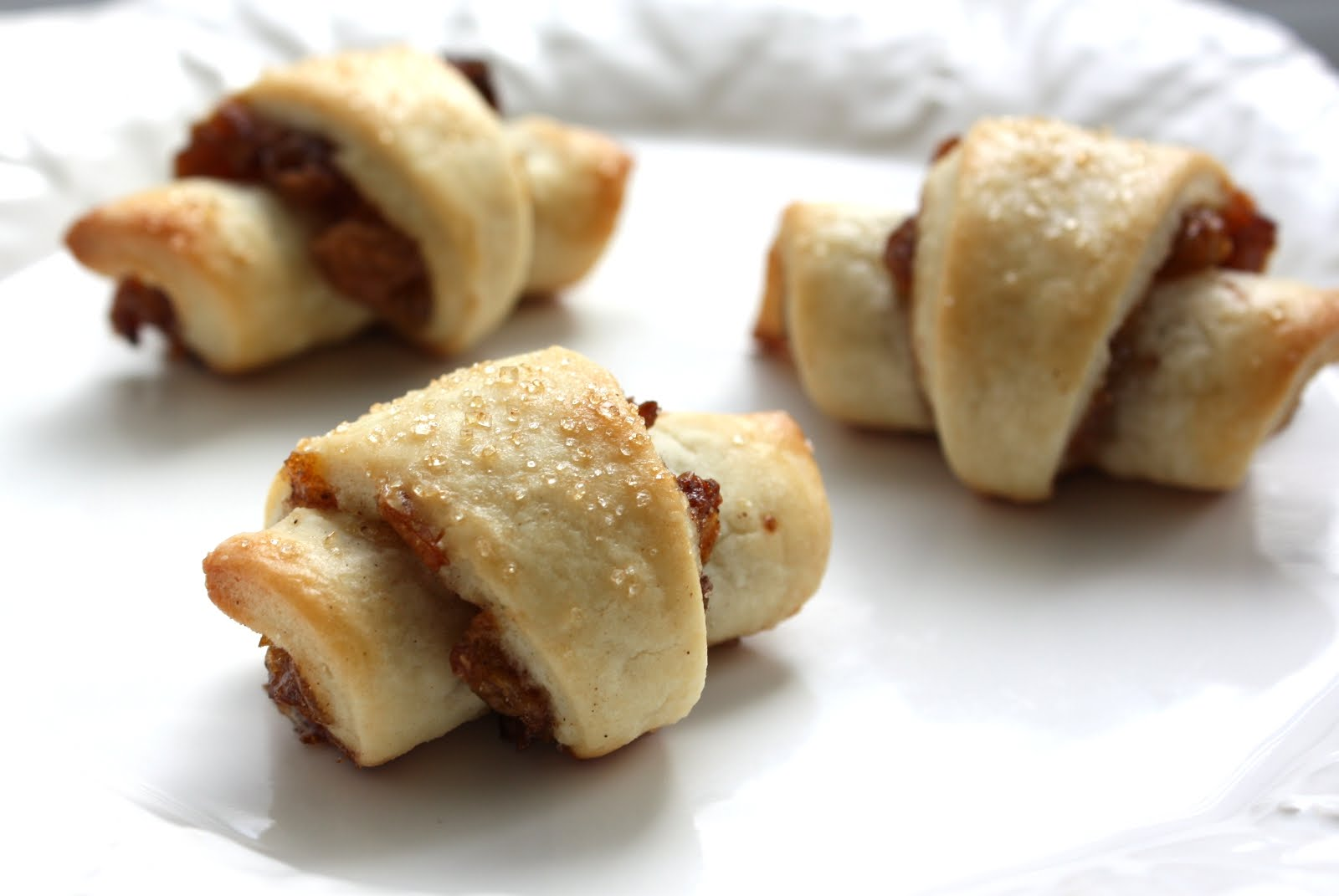 ... crescent dough things... And to add one more to the list - rugelach