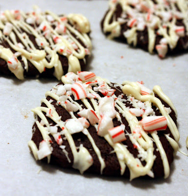 Cee In The Kitchen Iced Chocolate Peppermint Snaps
