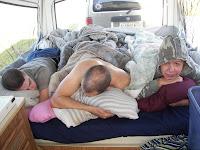 Despertando en la acampada