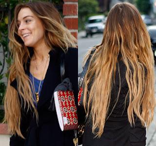 lindsay lohan hair