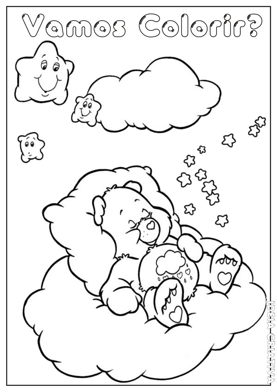Quem Nao Gostaria De Dormir Em Uma Nuvem Rodeado De Lindas Estrelinhas