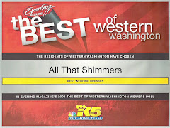 All That Shimmers - Winner of Best Wedding Dresses in Western Washington!