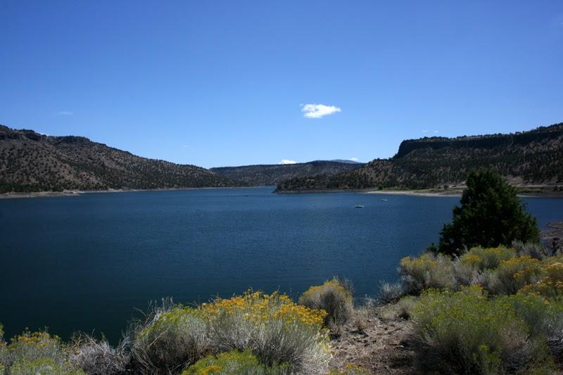 Bend oregon and way beyond prineville reservoir for Prineville reservoir fishing