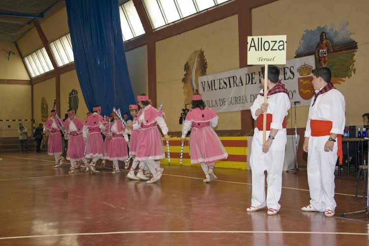 Desde Teruel estuvieron  con nosotros los Danzantes de Alloza
