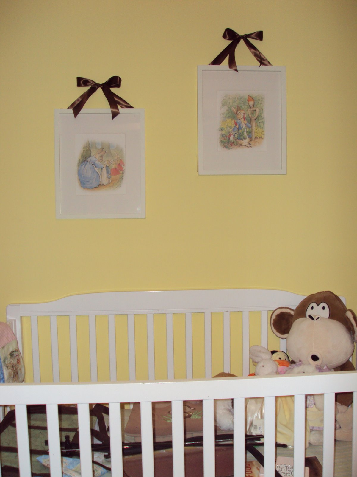 Mr. Magnificent & Company: Beatrix Potter Nursery Progress