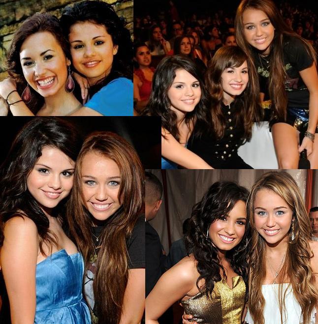 Miley, Demi e Selena!!!