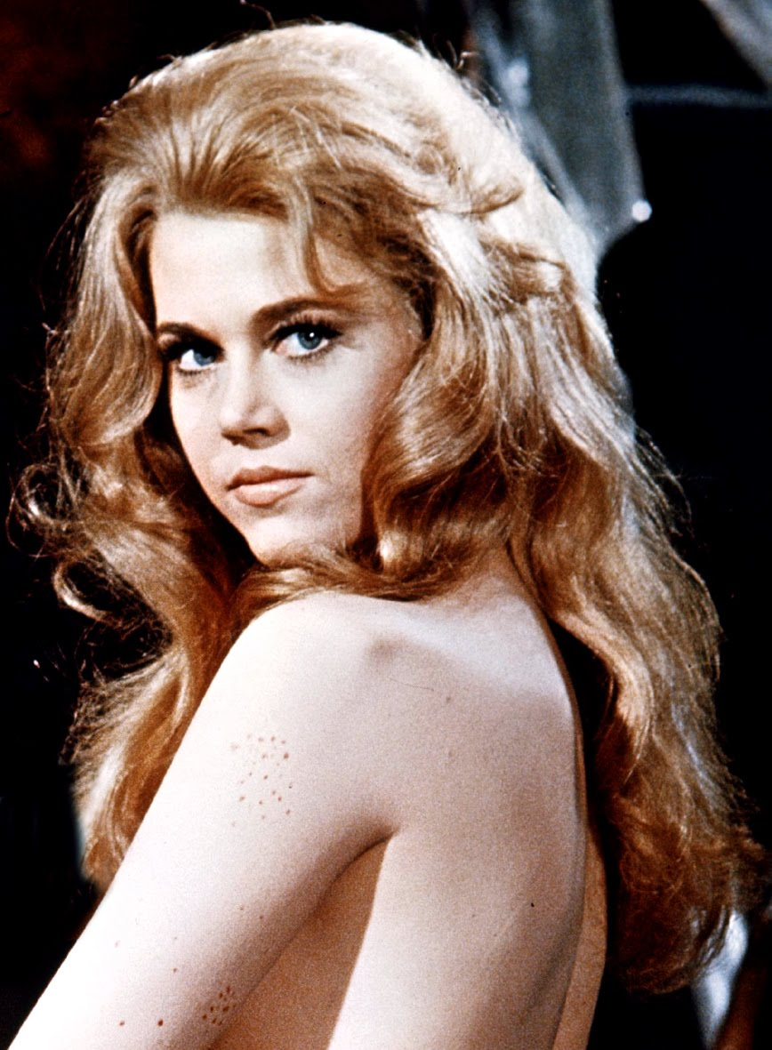 jane fonda the 60s version of a 50s blonde bombshell jane ...