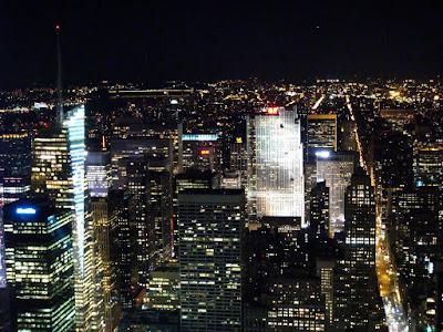 new york city skyline. the New York City skyline