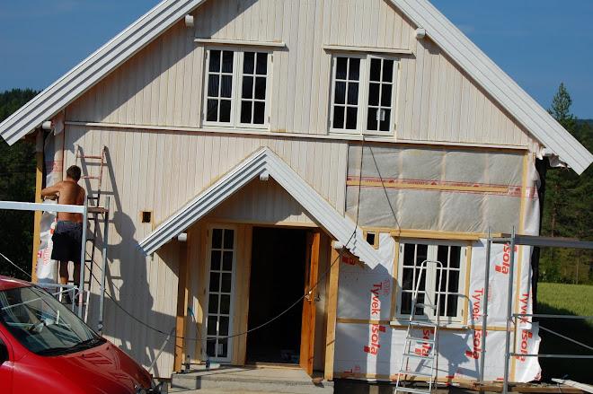 Husets fasade er ikke til å kjenne igjen