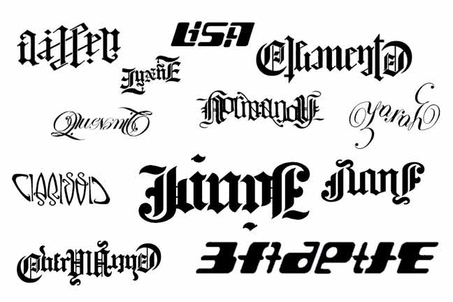 Ambigram tattoo designs have become increasingly popular as a result of the