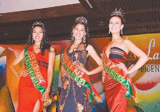 A María Laura Nitch la eligieron Señorita La Paz y Pamela Chavarría fue distinguida como Miss Illimani