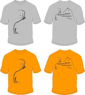 climbing T shirt design