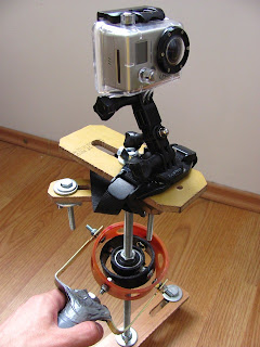 GoPro on DIY Camera Stabilizer