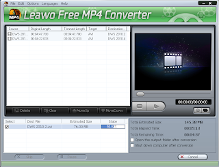 Converting AVI to MP4