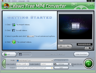 Leawo Free MP4 Converter